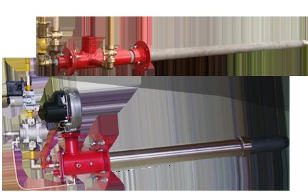 газовые горелки для обжига доломита