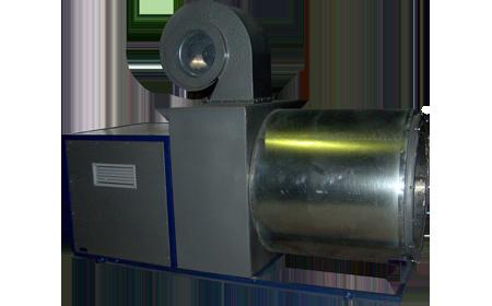 теплогенераторы-воздухонагреватели газовые