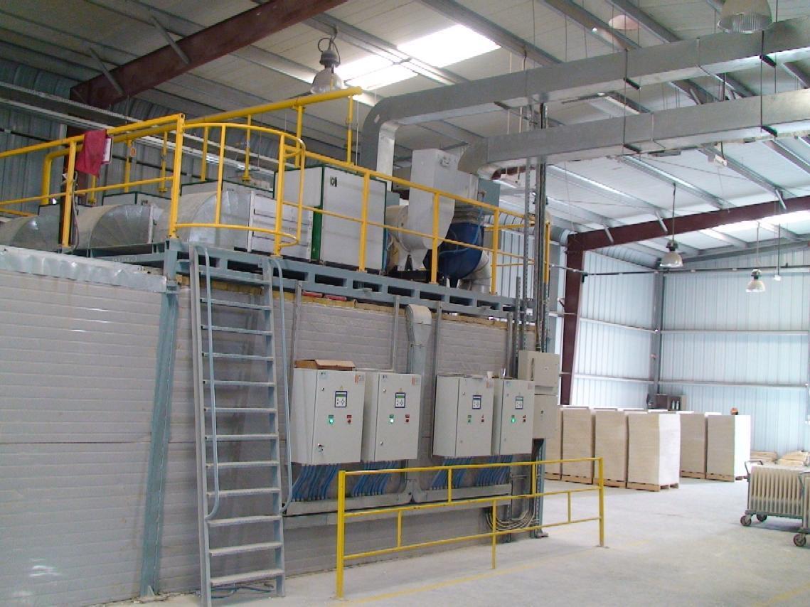 Теплогенераторы для тепловой обработки строительных материалов